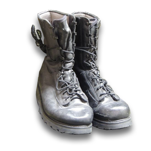 Combat Boots (start at $25 or $35 for Gortex)