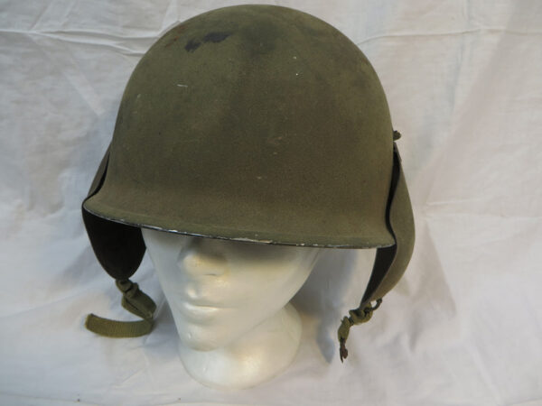 U.S. WWII USAAF Bomber Crew M3 Steel FLAK Helmet